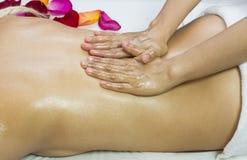 Massage de Balinese Image libre de droits