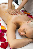 Massage de Balinese Photo libre de droits