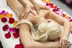 Massage de Balinese Photo stock