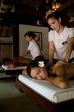 Massage de couples Image libre de droits