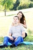Massage de détente Photographie stock libre de droits