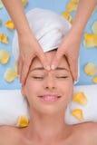Massage de front Image stock