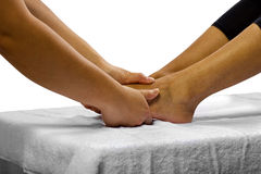 Massage de pied images stock
