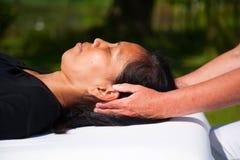 Massage de polarité Images stock