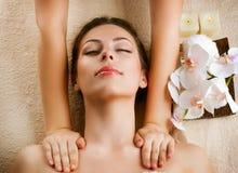Massage de station thermale image libre de droits