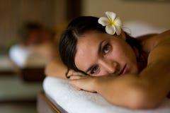 Massage de station thermale Photographie stock