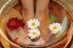 Massage der Füße lizenzfreie stockfotografie