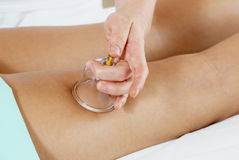 Massage des pieds Photographie stock libre de droits