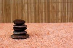 Massage des pierres 1 Photo libre de droits