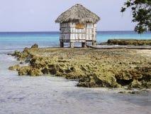 Massage durch das Meer stockbilder
