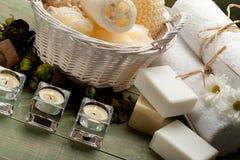 Massage en aromatherapy royalty-vrije stock foto's