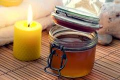 Massage en de Zorg van de Huid Stock Foto's