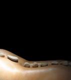Massage en pierre