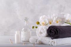 Massage et bien-être de station thermale image stock