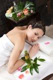 Massage et station thermale Photographie stock libre de droits