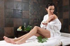 Massage et station thermale Photo libre de droits