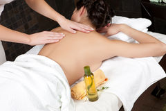 Massage et station thermale Photographie stock libre de droits