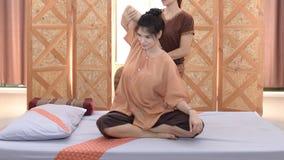 Massage et station thermale : Massage thaïlandais photographie stock