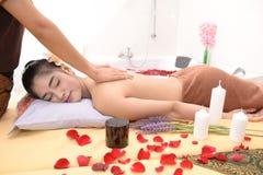 Massage et station thermale : Massage thaïlandais photos stock