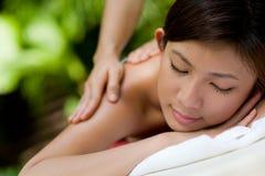 Massage extérieur Photo libre de droits
