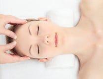 Massage facial Image stock