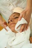 Massage facial Photographie stock libre de droits