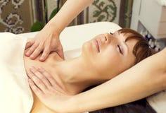 Massage and facial peels Royalty Free Stock Photos