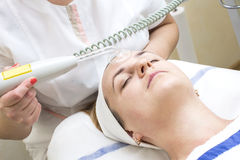 Massage and facial peels Stock Images