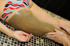 Massage of feet Stock Images