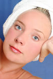 Massage Girl royalty free stock photography