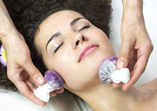 Massage grape bags Royalty Free Stock Image
