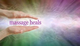 Massage HEALS so give it a try