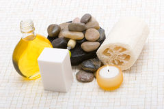 Massage items Royalty Free Stock Photos