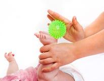Massage little child Stock Photography