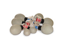 Massage magnets Royalty Free Stock Images