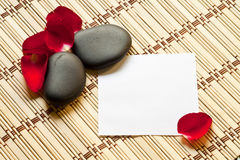 Massage note Royalty Free Stock Photos