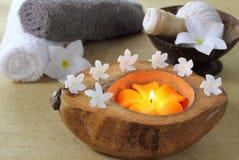 Massage och brunnsort. Royaltyfria Bilder