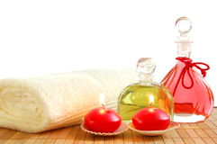 Massage oil Royalty Free Stock Photo