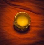 Massage oil. Or balm, cream Stock Photos