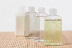 Massage oil bottles Stock Image