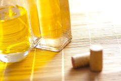 Massage oils Royalty Free Stock Photography