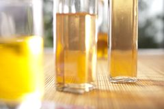 Massage oils Stock Photo