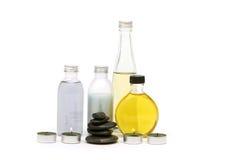 Massage oils Stock Photography