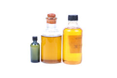 Massage oils Stock Image