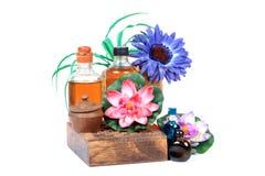Massage oils Stock Photos