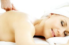 Massage pleasure #3 Royalty Free Stock Image