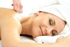 Massage pleasure #2 Stock Image