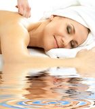 Massage pleasure in water #2 Stock Image