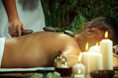 On massage Stock Photos