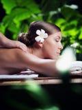 On massage Stock Photo